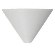 Bílý plastový baldachýn